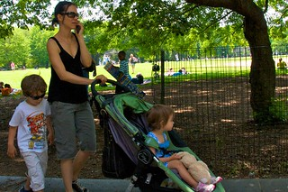 Our kids know that we're ignoring them when we call someone on the cell phone after telling them we'd take them to the park   by Ed Yourdon