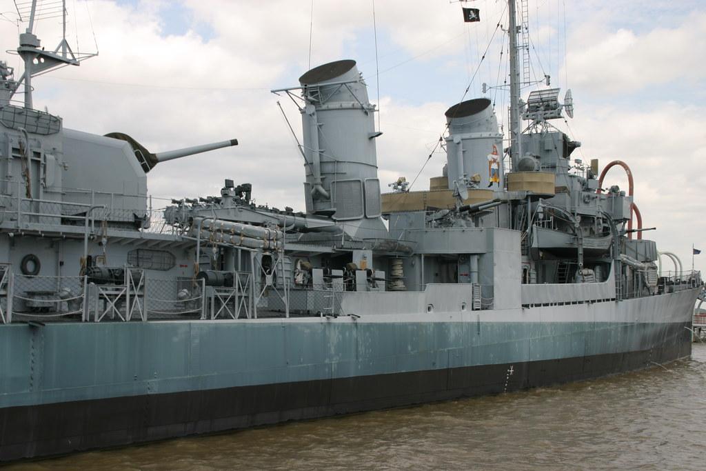 USS Kidd Museum | USS Kidd DD 661, Fletcher class destroyer
