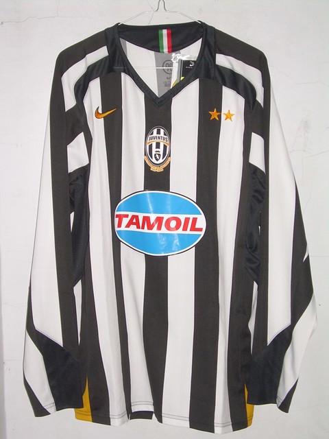 newest 70290 cf9ae Juventus Home-Kit 2005-2006 LS Scudetto Centenario | Flickr
