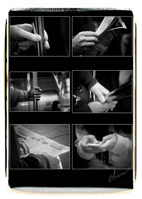 NYC Subway Hands