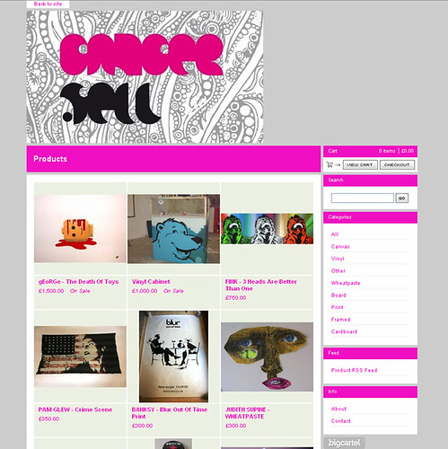 CANCER SELL ONLINE SHOP