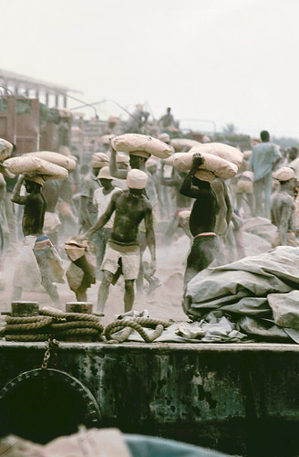 Working conditions in Apapa Harbour in Lagos, Nigeria. | by cookiesound