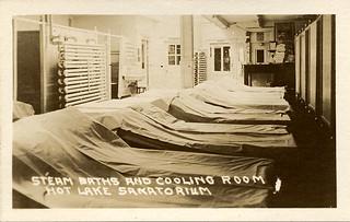 Steam Baths, Hot Lake Sanatorium, 1922