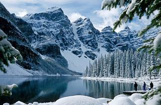 Banff National Park Moraine Lake Alberta Canada Flickr