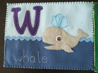 W is for whale - finished | by Stacy Spensley