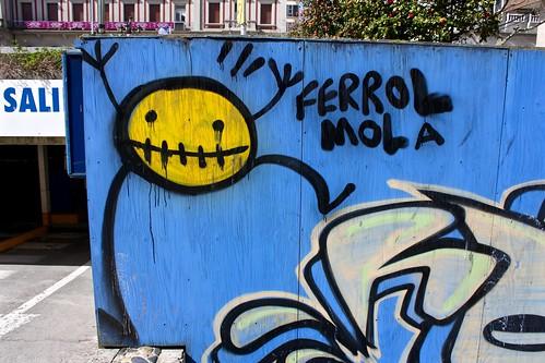 Ferrol Mola street art | by Trevor.Huxham
