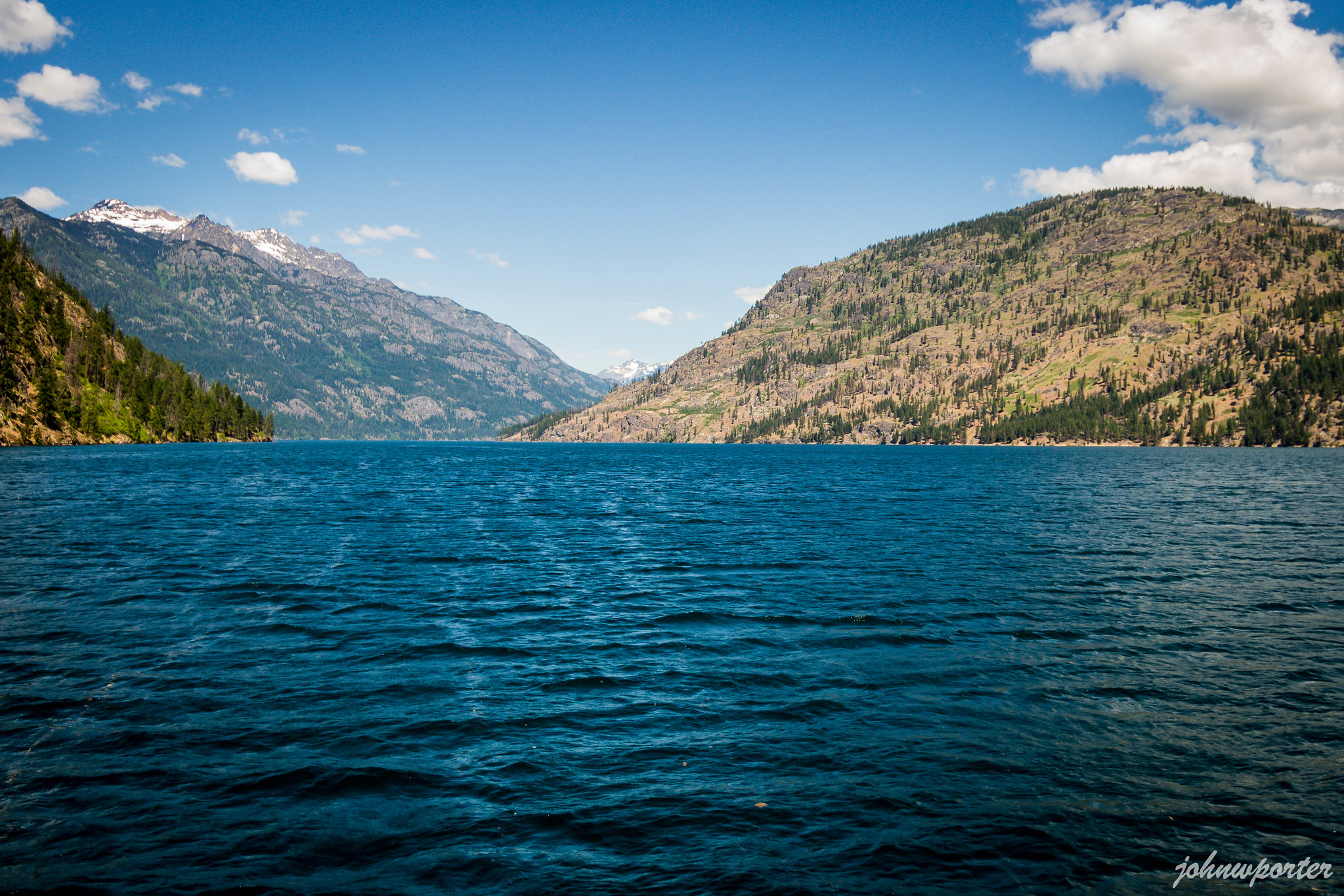 Ferry ride on Lake Chelan