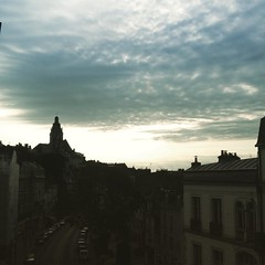 Sunrising in Blois
