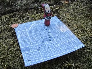 Portland City Walks No. 7 - Map