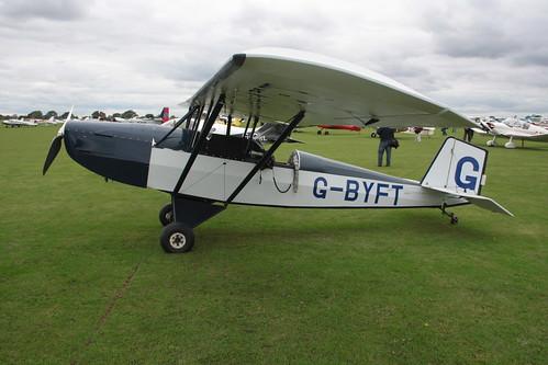 G-BYFT Pietenpol Aircamper [PFA 047-13057] Sywell 040915