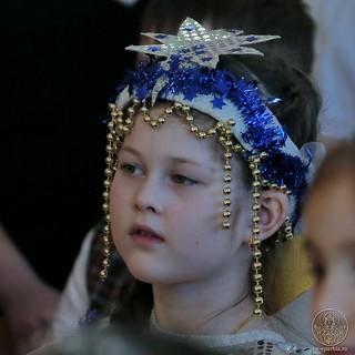 Рождественский концерт в школе 165