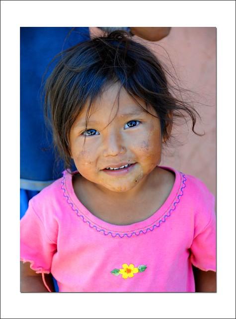 little girl at san cristobal
