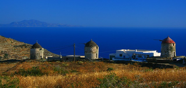 Windmills on Folegandros