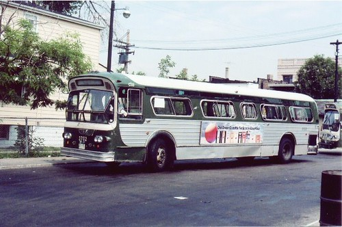 Mid 1960 S Vintage Cta Flxible Bus At West 63rd Place And