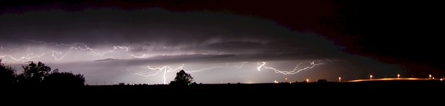 Aug 13, 2008 - Thunderstorm Pano Action!