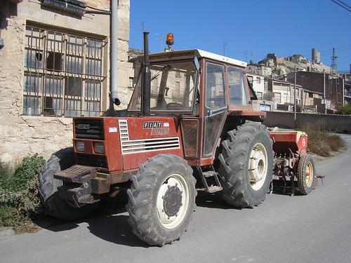 Tractor Fiat a Guimerà (Lleida)