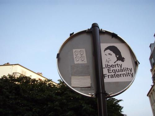 Libertad, igualdad, fraternidad   by Daquella manera