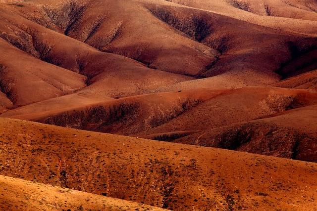 Red Desert, Fuerteventura, Islas Canarias (España)