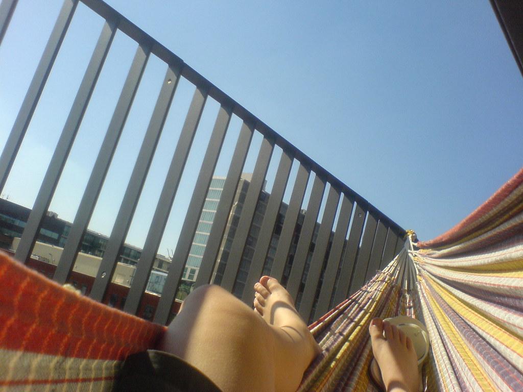Hangmat Voor Op Balkon.Nieuwe Balkon Ook Hangmat Proof Marleen Van Den Brand Flickr