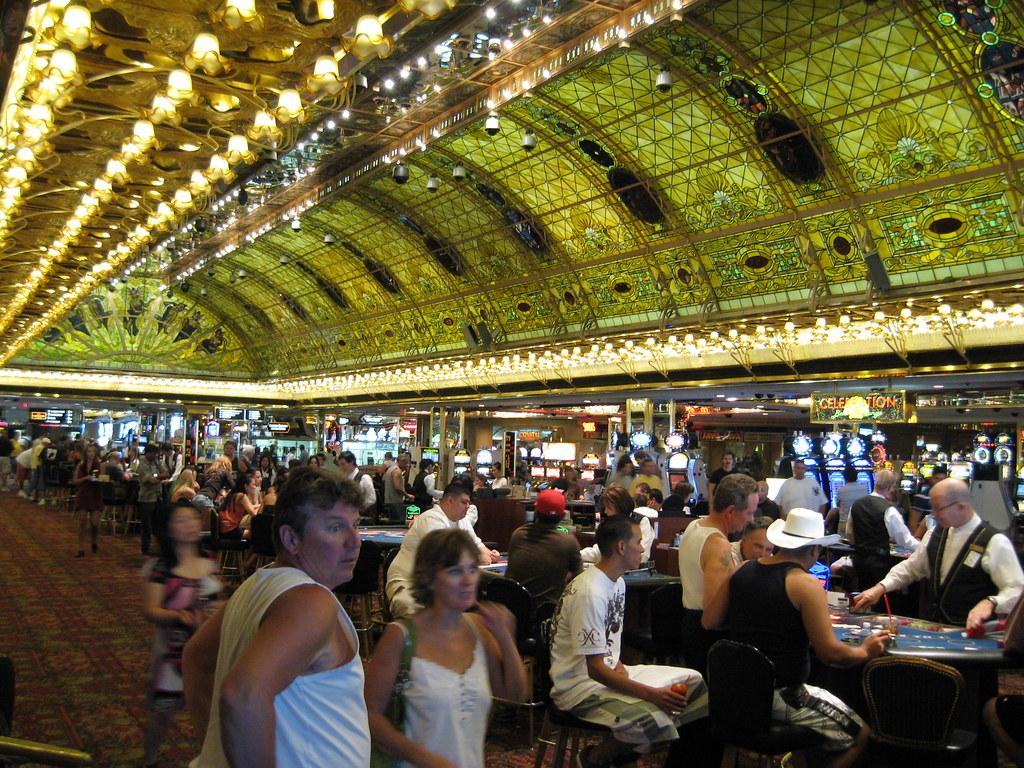 Glass Ceiling, Tropicana Casino | Art Nouveau-inspired ceili