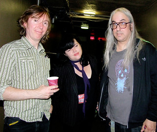MBV's Colm O'Ciosoig plus Jo Murray & J Mascis @ Roseland Ballroom NYC | by bp fallon