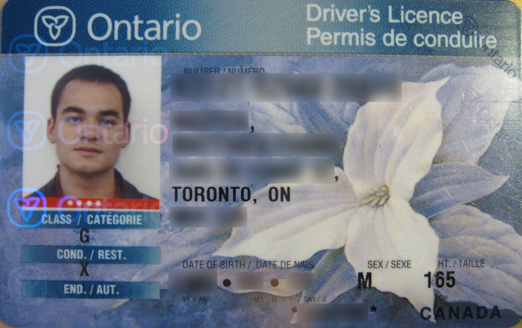 drivers license address change ontario