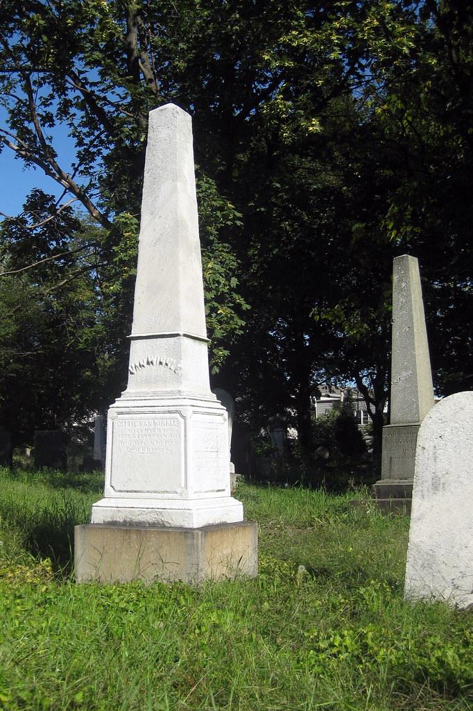 Nj Jersey City Old Bergen Church Cemetery Gittie Van