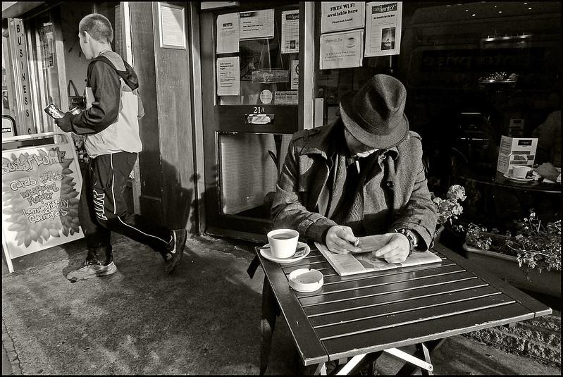 Outside Cafe Lento