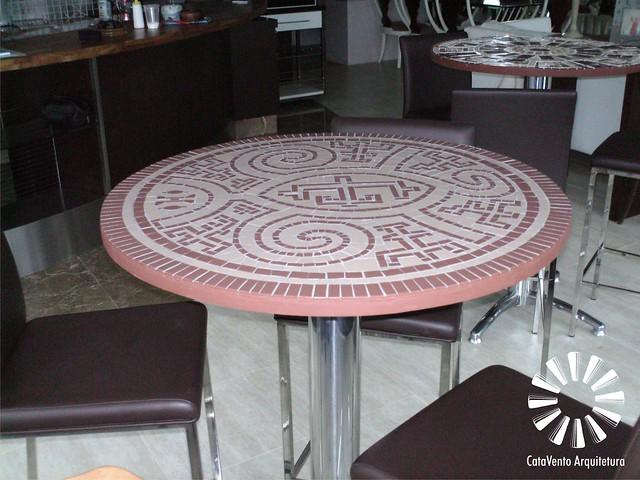 mesa mosaico...