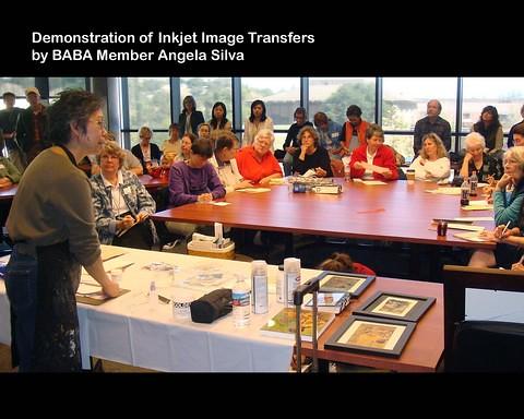 Book Arts Jam 2007 - Inkjet transfer - slide 7
