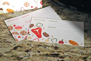 Sweet & Savory Recipe Cards   by Sarah Pellegrini