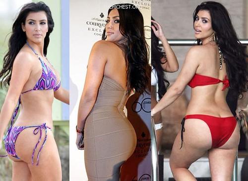 Booty kardashian Kourtney Kardashian