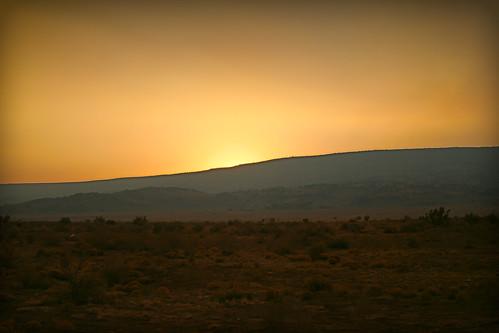 sunset newmexico landscape fire smoke smokey forestfire grants 2011 wallowfire