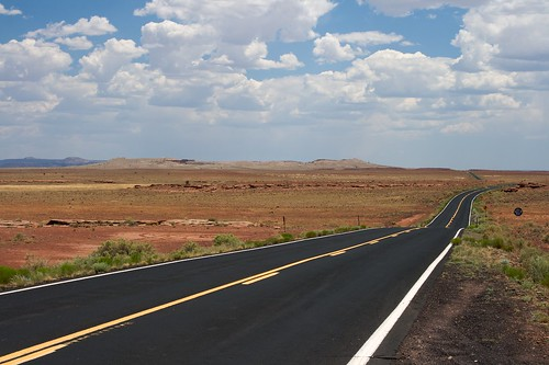 The Road To Meteor Crater | by dbostrom