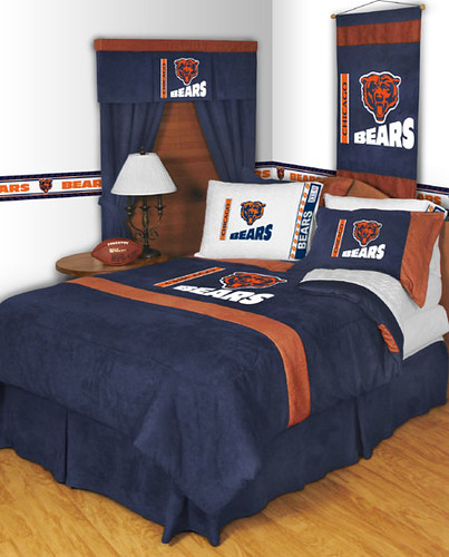 Chicago Bears Mvp Comforter Sheet Set Chicago Bears