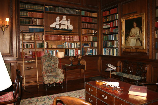 Filoli Mansion - Library