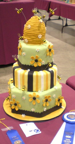 Beehive cake | by Adventures of Pam & Frank