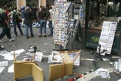scontri studenti roma