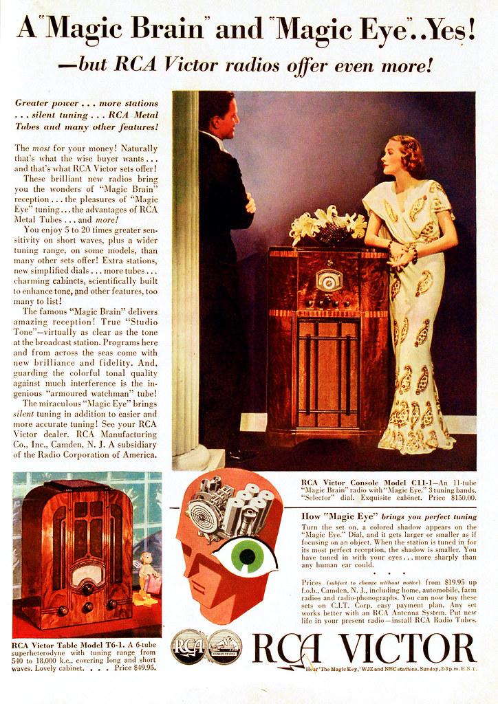 Vintage Advertisement | RCA Victor Radio Ad, 1936 | Flickr