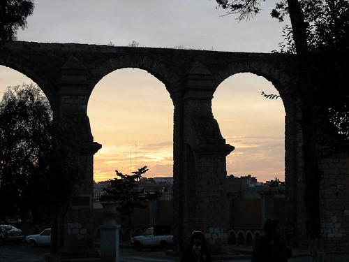 mexico aqueduct acueducto zacatecas cubo elcubo