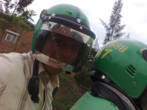 Kigali Boda Boda Helmet | by Wayan Vota