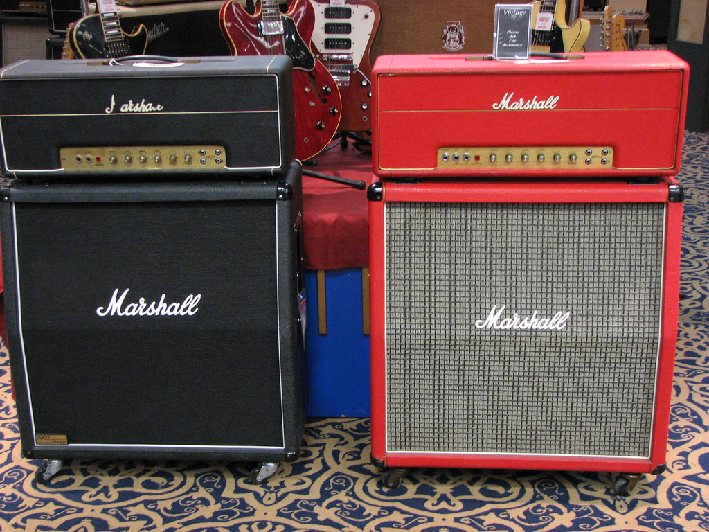 Vintage Marshall Amps   From the weblog: www wiretotheear co…   Flickr