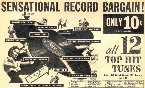 Sensational Record Bargain - 1957 | by senses working overtime