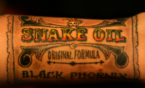 Snake Oil shading and coloring | by opacity
