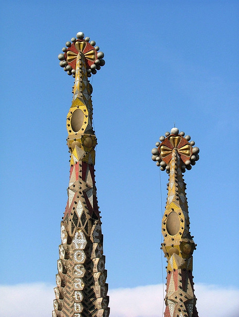 Bell Towers, Sagrada Familia, Barcelona