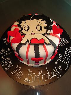 Betty Boop Birthday Cake - a photo on Flickriver