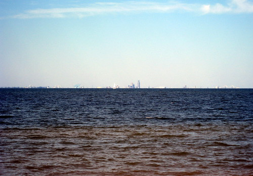 city mobile skyline bay al alabama fairhope