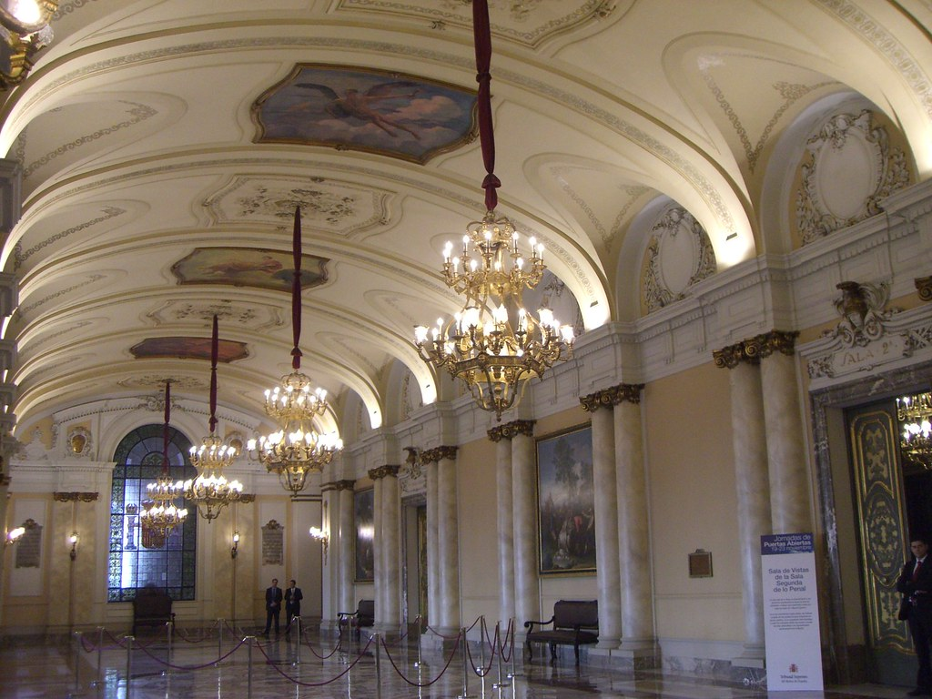Madrid Tribunal Supremo De Justicia Direccion Plaza De Flickr