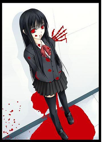 Bloody Anime Girl Kesha Snake Immortal Flickr
