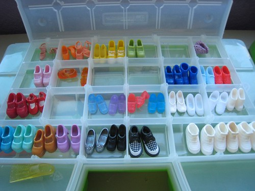 Shoe sorting step two | by SewPixie